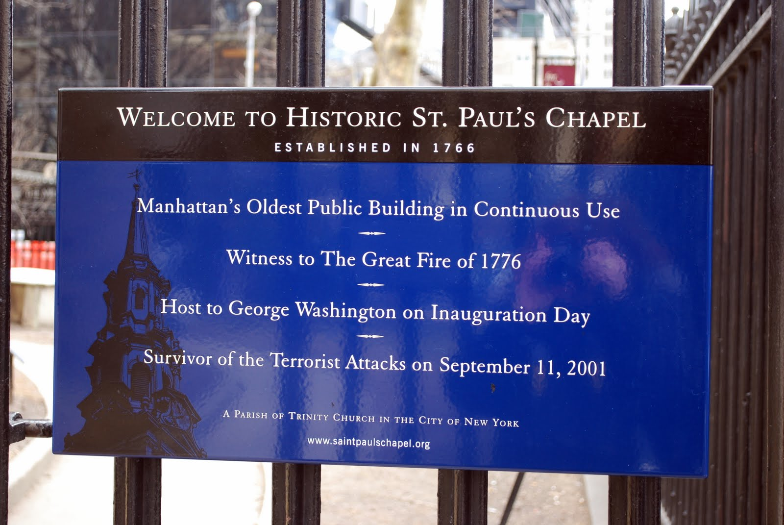 St. Paul's Welcome Sign